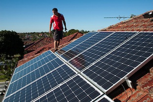 America's Share of the Global Solar Market Grew Strongly in 2012