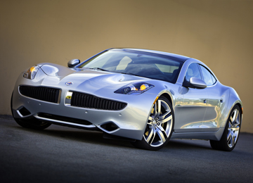 First Fisker Karma EV Delivered to KP's Ray Lane
