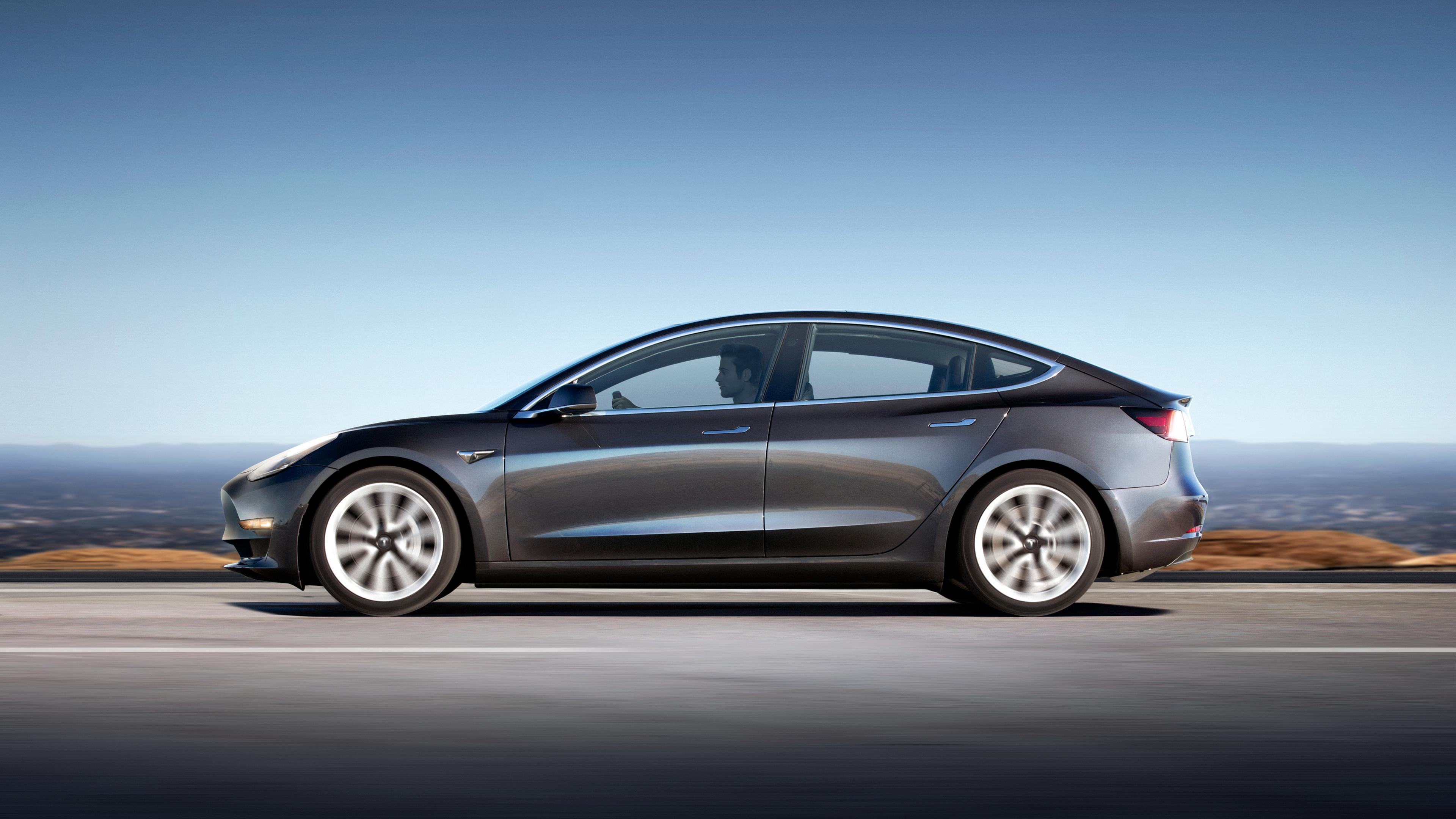 Tesla Model 3 production launch event.