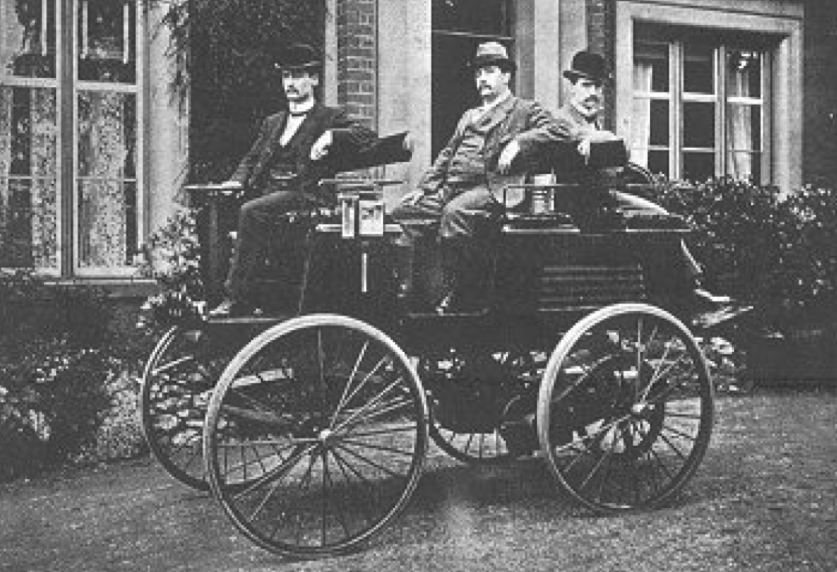 Thomas Parker Electric Car
