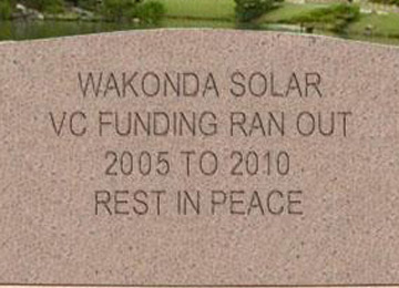 Wakonda, the Next Defunct Solar Startup