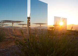 What the Flux: BrightSource Heats Up Solar Tower