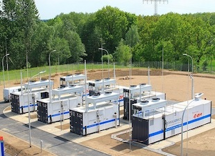 Wind Power Makes Hydrogen for German Gas Grid
