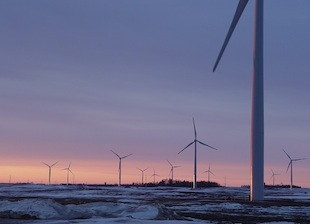 Wind Aids Grid as Cold Hits Conventional Power