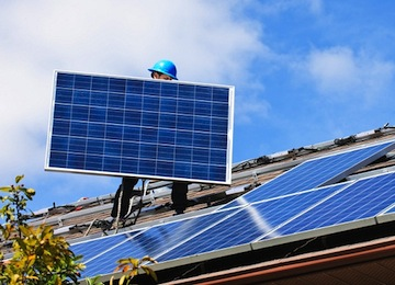 For Solar Power Employment, Think Installer