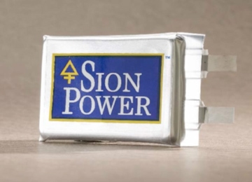 Sion Power: Self-Scrubbing Lithium-Sulfur Batteries