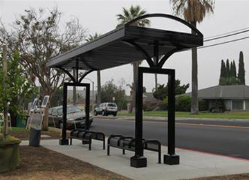 Solar Bus Shelters From GoGreenSolar