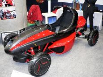 The Single Seater Electric Sports Car